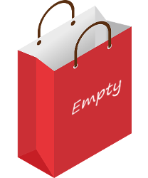 empty shopping bag